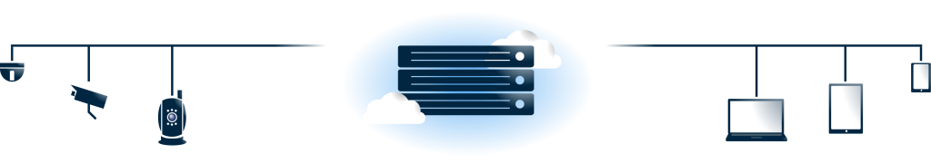 Video Cloud Solution Graphic